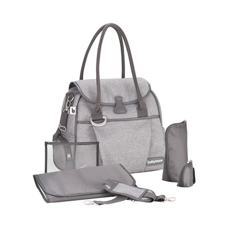 BABYMOOV  Wickeltasche Style Bag  smokey 2