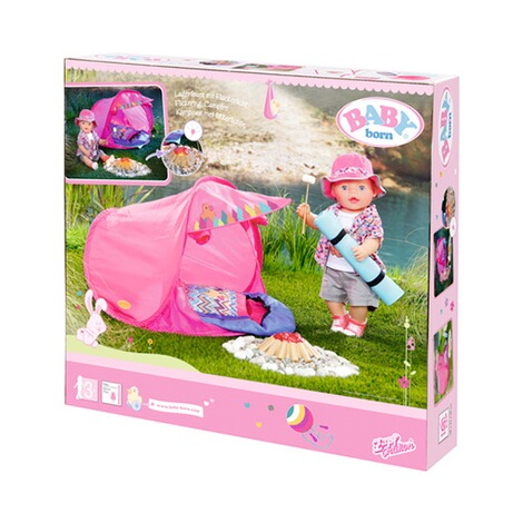 Zapf Creation BABY BORN Camping Set Play&Fun 6