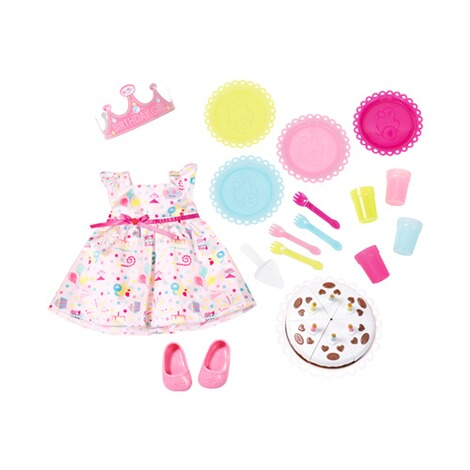 ZAPF BABY BORN Puppen Outfit Deluxe Party Set 1