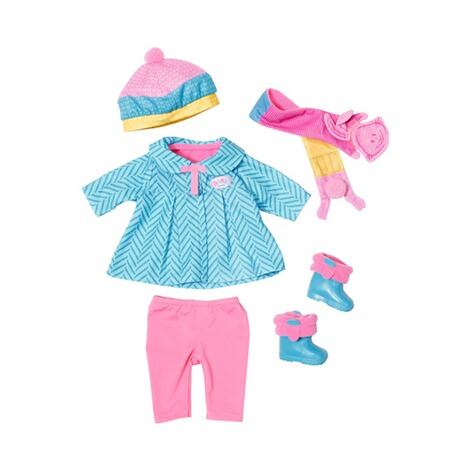 Zapf Creation BABY BORN Puppen Outfit Deluxe Kalte Tage 1
