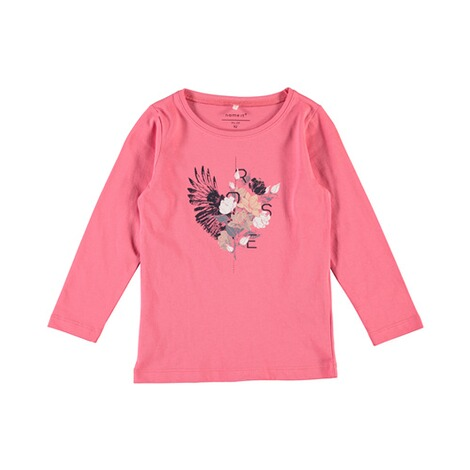 NAME IT  Shirt langarm Veenlis Rose  koralle 1