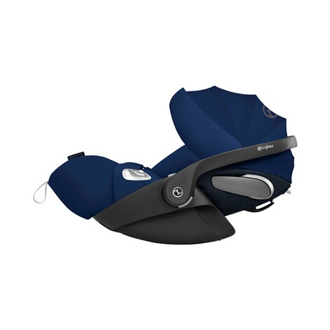 Cybex PLATINUM Cloud Z i-Size Babyschale mit Liegefunktion  Midnight Blue 2