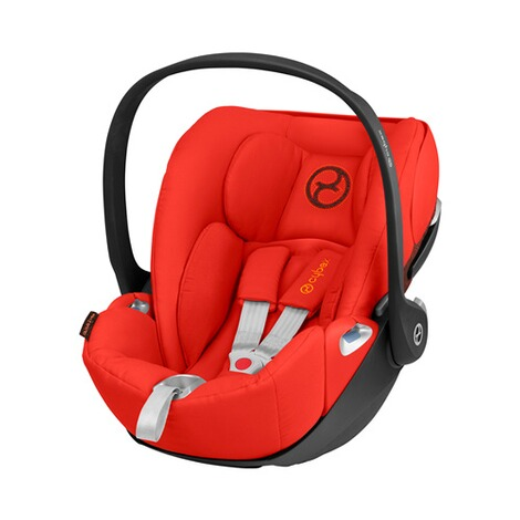 Cybex PLATINUM Cloud Z i-Size Babyschale mit Liegefunktion  Autumn Gold 1