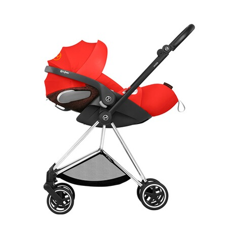Cybex PLATINUM Cloud Z i-Size Babyschale mit Liegefunktion  Autumn Gold 12