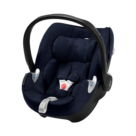 Cybex PLATINUM Aton Q Plus i-Size Babyschale  Midnight Blue 1