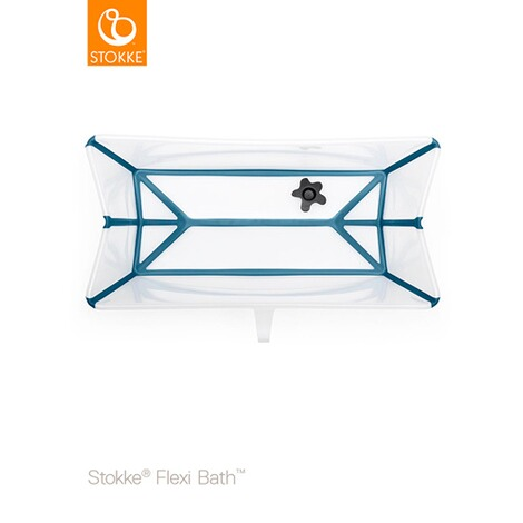 STOKKE® FLEXIBATH Badewanne  transparent blue 2