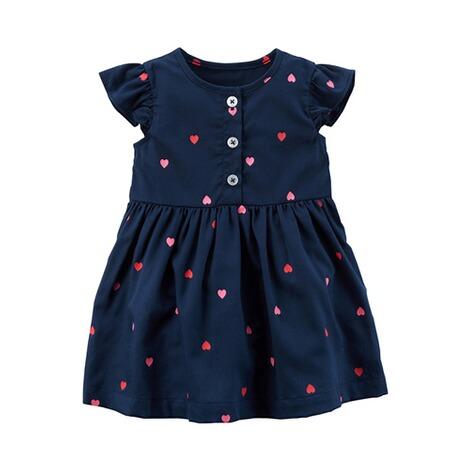 CARTER´S Kleid Flügelarm Herzen online kaufen   baby-walz
