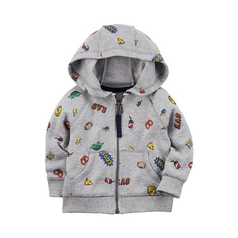 CARTER´S  Sweatjacke Cool Mixprint 1