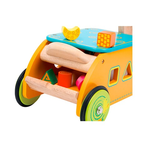 SMALL FOOT  Motorikwagen Hase aus Holz 3