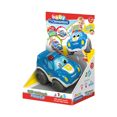 CLEMENTONI BABY Polizeiauto Lights & Sounds 4