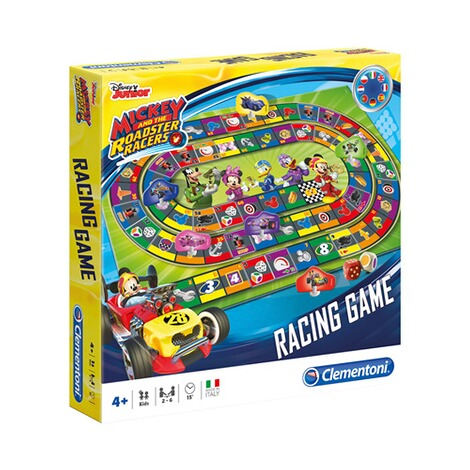 CLEMENTONI MICKEY AND THE ROADSTER RACERS Brettspiel Rennspiel Mickey 1