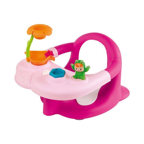 SMOBY COTOONS Baby-Badesitz und Activity Tablett 2 in 1  rosa 1