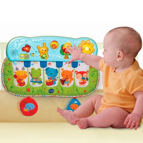 vtech baby musikspielzeug f chen klavier online kaufen baby walz. Black Bedroom Furniture Sets. Home Design Ideas