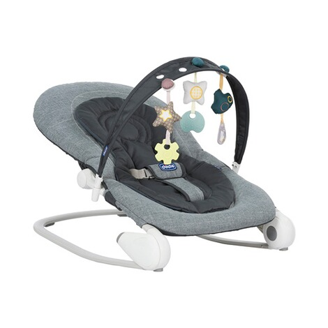 CHICCO  Babywippe Hoopla  Dark Grey 1
