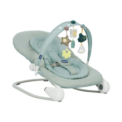 CHICCO  Babywippe Hoopla  Dusty Green 1