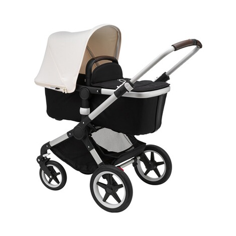 Bugaboo FOX Kombikinderwagen  alu/black/fresh white 2