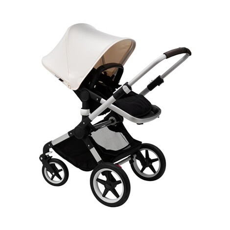 Bugaboo FOX Kombikinderwagen  alu/black/fresh white 3