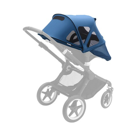 BUGABOO FOX Breezy Sonnendach für Fox, Cameleon³ Design 2018  Neon Red 2