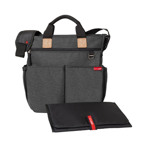 SKIP HOP  Wickeltasche Duo Signature  Soft Slate 1