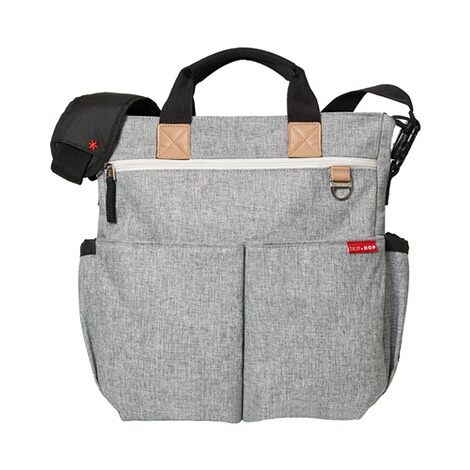 SKIP HOP  Wickeltasche Duo Signature  Grey Melange 1