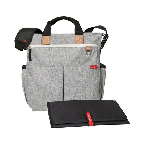 SKIP HOP  Wickeltasche Duo Signature  Grey Melange 2