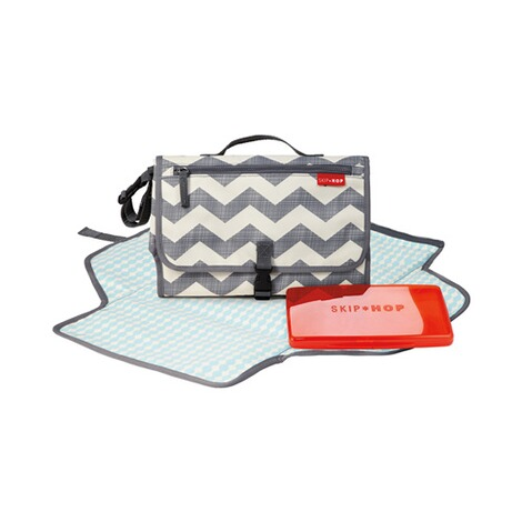 SKIP HOP  Wickeltasche Pronto Signature CS  Chevron 2