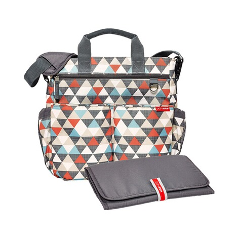 SKIP HOP  Wickeltasche Duo Signature  Triangles 1