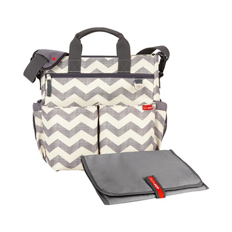 SKIP HOP  Wickeltasche Duo Signature  Chevron 1