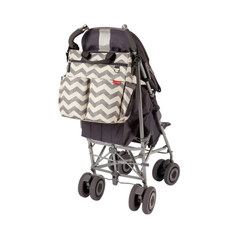 SKIP HOP  Wickeltasche Duo Signature  Chevron 2