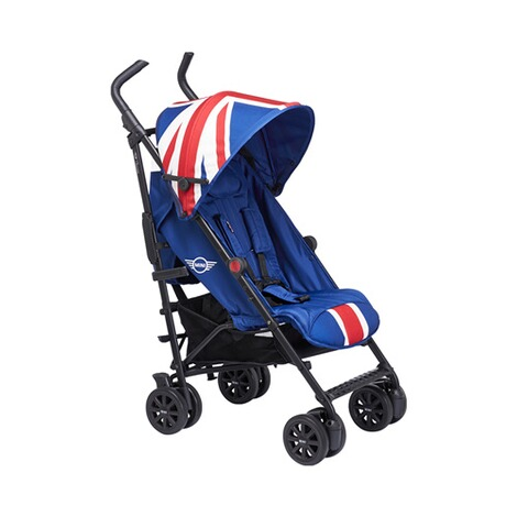 EASYWALKER MINI Buggy+ mit Liegefunktion  Union Jack Classic 1