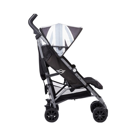 EASYWALKER MINI Buggy+ mit Liegefunktion  Union Jack Black & white 3