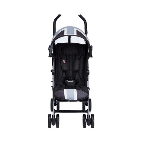 EASYWALKER MINI Buggy+ mit Liegefunktion  Union Jack Black & white 4