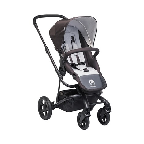 EASYWALKER HARVEY Kinderwagen Design 2018  All Black 1