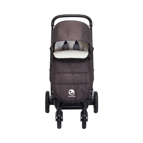 Easywalker HARVEY Ganzjahres-Fußsack  All Black 2