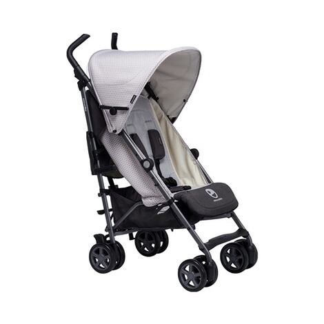 EASYWALKER  Buggy + mit Liegefunktion  Silver Circle 1