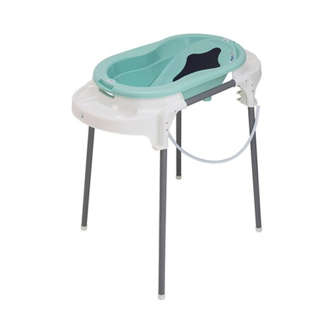 ROTHO BABYDESIGN  4-tlg. Badewannen-Set TOP, ideale Badelösung  swedisch green 1