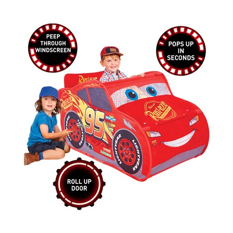 WORLDSAPART DISNEY CARS Spielzelt Lightning McQueen Pop-up 5