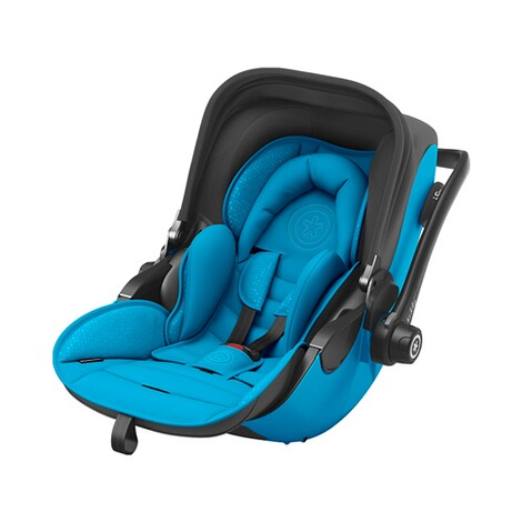 kiddy  Evoluna i-Size2 Babyschale mit Liegefunktion incl. Isofix Base 2  Summer Blue 1