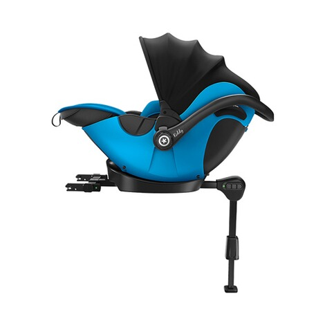 kiddy  Evoluna i-Size2 Babyschale mit Liegefunktion incl. Isofix Base 2  Summer Blue 5