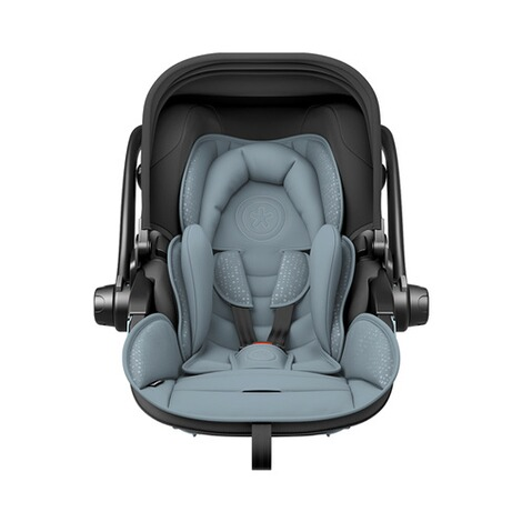 kiddy  Evoluna i-Size2 Babyschale mit Liegefunktion incl. Isofix Base 2  Polar Grey 3