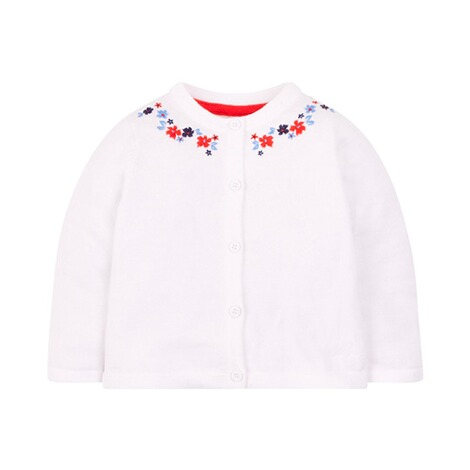 MOTHERCARE  Strickjacke Blumen 1
