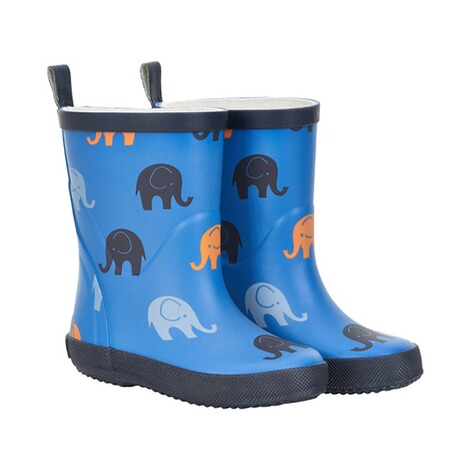 Gummistiefel Elefanten blau