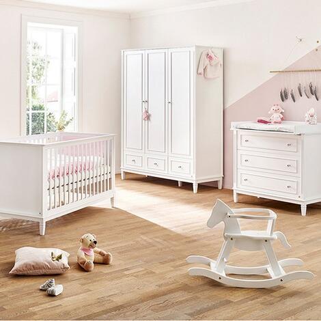 Pinolino 3 tlg babyzimmer hope breit online kaufen baby walz - Pinolino babyzimmer ...