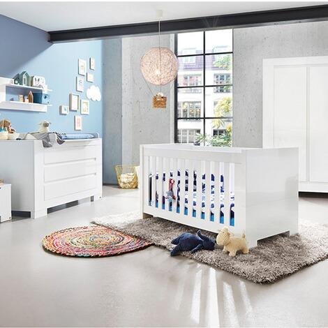 Pinolino 3 tlg babyzimmer sky extrabreit gro online kaufen baby walz - Pinolino babyzimmer ...