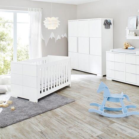 Pinolino 3 tlg babyzimmer polar extrabreit gro online kaufen baby walz - Pinolino babyzimmer ...