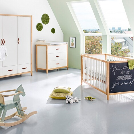 Pinolino 3 Tlg Babyzimmer Calimero Breit Gross Mit Tafellack Online