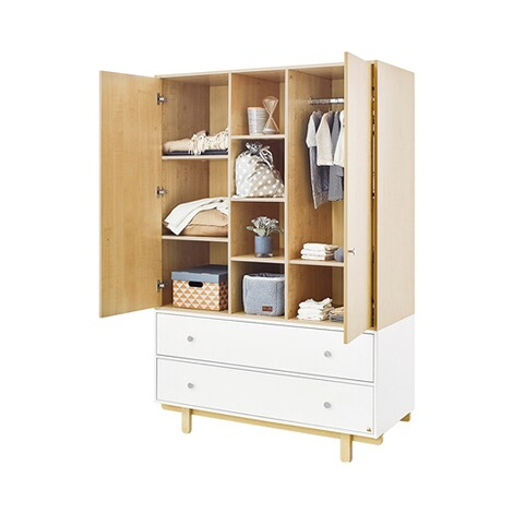 pinolino kleiderschrank boks gro 2 t rig online kaufen baby walz. Black Bedroom Furniture Sets. Home Design Ideas