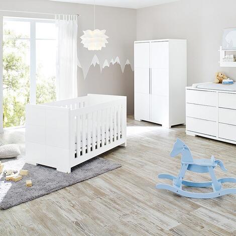 pinolino 3 tlg babyzimmer polar extrabreit online kaufen baby walz. Black Bedroom Furniture Sets. Home Design Ideas
