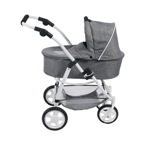 BAYER CHIC  Kombi-Puppenwagen 3 in 1 Emotion All In  jeans/grau 3