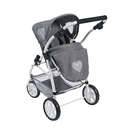 BAYER CHIC  Kombi-Puppenwagen 3 in 1 Emotion All In  jeans/grau 5